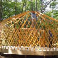 Jurtaépítő tábor június 15-16-17